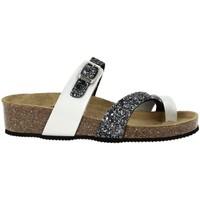 Chaussures Femme Sandales et Nu-pieds La Maison De L'espadrille 3530 Argent