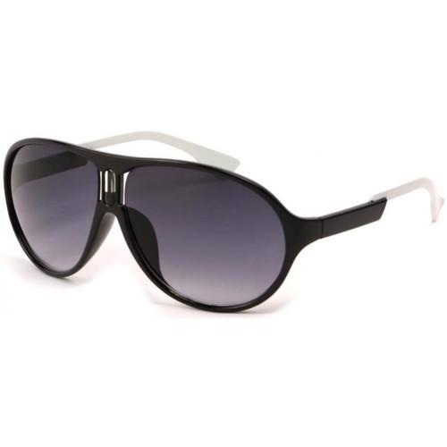 Montres & Bijoux Homme Lunettes de soleil Eye Wear Lunettes Soleil Gaga avec monture Noire Noir