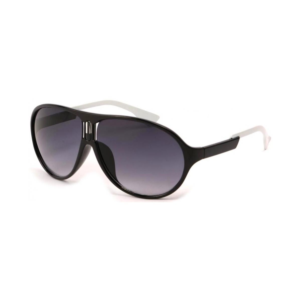 Eye Wear Lunettes Soleil Gaga avec monture Noire Noir