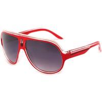 Montres & Bijoux Lunettes de soleil Eye Wear Lunettes Soleil Miles avec monture Rouge Rouge