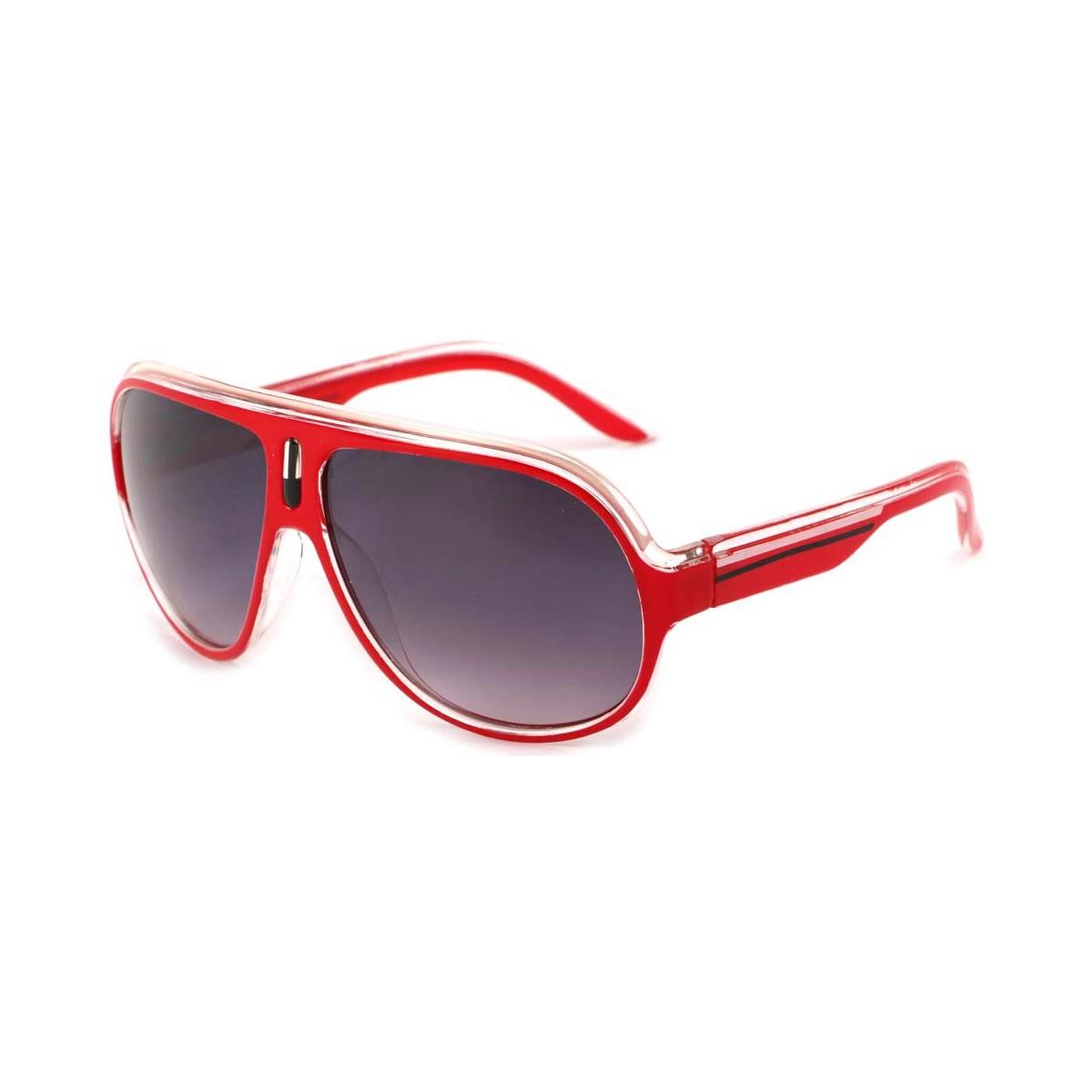 Eye Wear Lunettes Soleil Miles avec monture Rouge Rouge