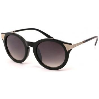 Montres & Bijoux Lunettes de soleil Eye Wear Lunettes Soleil Maria monture Noire et dorée Noir