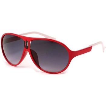 Montres & Bijoux Lunettes de soleil Eye Wear Lunettes Soleil Gaga avec monture Rouge Rouge