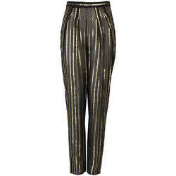 Vêtements Femme Pantalons fluides / Sarouels Patrizia Pepe  Noir