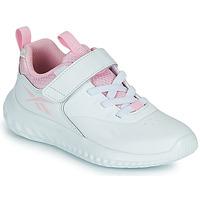 Chaussures Fille Baskets basses Reebok Sport RUSH RUNNER Blanc / Rose