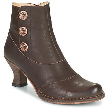 Chaussures Femme Bottines Neosens ROCOCO Marron