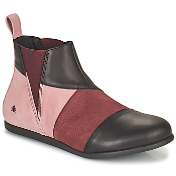 Chaussures Femme Boots Art LARISSA Violet / Noir