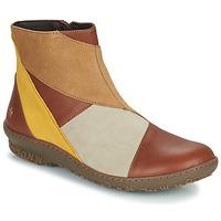 Chaussures Femme Boots Art ANTIBES Marron