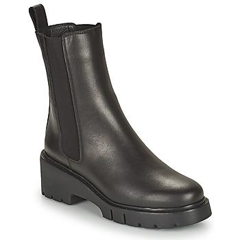Chaussures Femme Boots Unisa JOSTO Noir