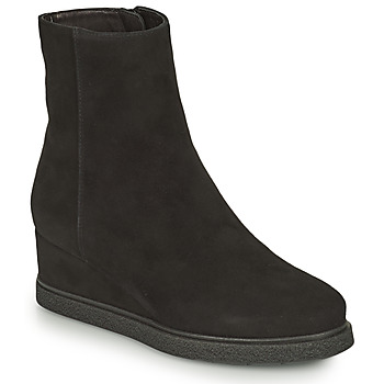 Chaussures Femme Bottines Unisa JUSTEL Noir