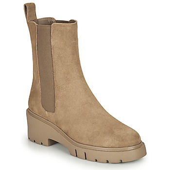 Chaussures Femme Boots Unisa JOSTO Taupe