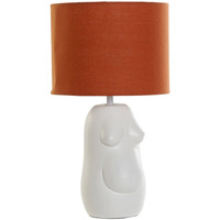 Maison & Déco Lampes à poser Zen Et Ethnique Lampe Buste Natalité Blanc