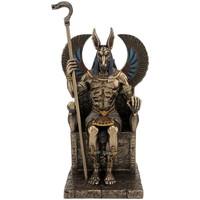 Maison & Déco Statuettes et figurines Zen Et Ethnique Statue Anubis en résine Doré