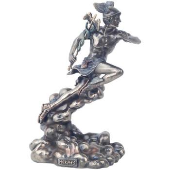 Maison & Déco Statuettes et figurines Zen Et Ethnique Statuette Hermès en résine aspect bronze Doré