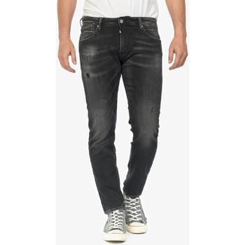 Vêtements Homme Jeans slim Japan Rags Jogg  700/11 slim jeans destroy noir n°1 BLACK / BLACK