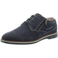 Chaussures Homme Derbies Bugatti Chaussures de ville  ref 48926 Bleu Bleu