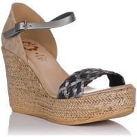 Chaussures Femme Sandales et Nu-pieds Porronet 2747 Gris