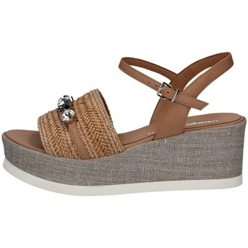 Chaussures Femme Sandales et Nu-pieds Gianmarco Sorelli 2093 ANTILOPE