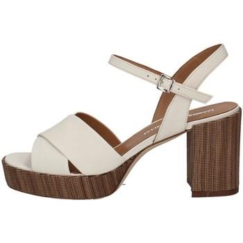 Chaussures Femme Sandales et Nu-pieds Gianmarco Sorelli 2087 LAIT