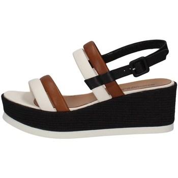 Chaussures Femme Sandales et Nu-pieds Gianmarco Sorelli 2056 LAIT