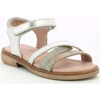 Chaussures Fille Sandales et Nu-pieds Aster Tessia ARGENT