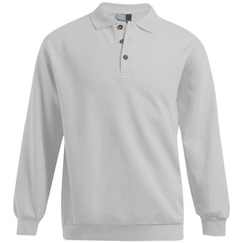 Vêtements Homme Sweats Promodoro Polo sweat manches longues Hommes promotion gris clair chiné