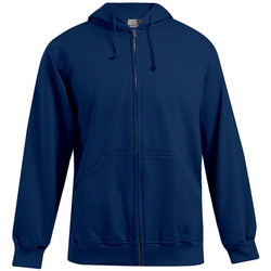 Vêtements Homme Sweats Promodoro Veste sweat capuche zippée coton Hommes promotion bleu marine