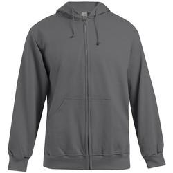 Vêtements Homme Sweats Promodoro Veste sweat capuche zippée coton Hommes promotion gris