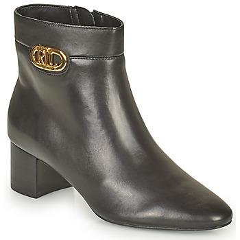 Chaussures Femme Bottines Lauren Ralph Lauren WYNNIE Noir
