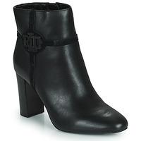 Chaussures Femme Bottines Lauren Ralph Lauren MARLEIGH Noir