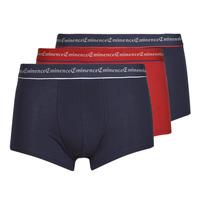 Sous-vêtements Homme Boxers Eminence LE33 X3 Marine / Rouge / Marine