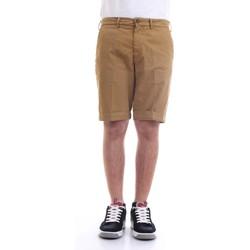 Vêtements Homme Shorts / Bermudas 40weft SERGENTBE 6011 Bermudes homme Marron