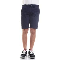 Vêtements Homme Shorts / Bermudas 40weft SERGENTBE 6011 Bermudes homme Bleu