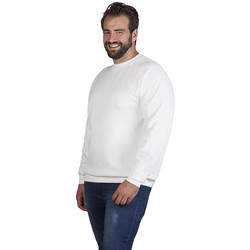 Vêtements Sweats Promodoro Sweat interlock unisexe grandes tailles pomotion blanc