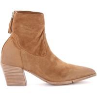 Chaussures Femme Bottines Moma Bottines  en daim marron Brun