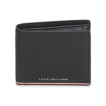 Sacs Homme Portefeuilles Tommy Hilfiger TH COMMUTER EXTRA CC AND COIN Noir