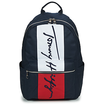 Sacs Homme Sacs à dos Tommy Hilfiger TH SIGNATURE CORP BACKPACK Marine
