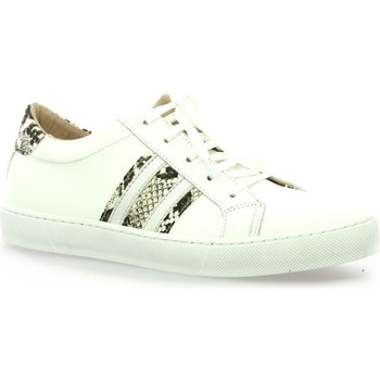 Chaussures Femme Baskets basses So Send Baskets cuir Blanc