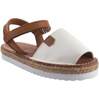 Chaussures Fille Sandales et Nu-pieds Bubble Bobble Sandale fille  A3301 blanc Blanc