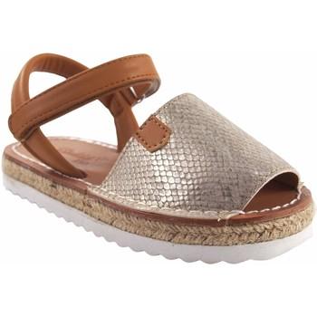 Chaussures Fille Sandales et Nu-pieds Bubble Bobble Sandale fille  A3301 or Doré