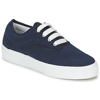 Chaussures Femme Baskets basses Yurban PLUO Marine