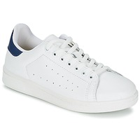 Chaussures Homme Baskets basses Yurban SATURNA Blanc / Marine
