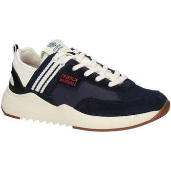 Chaussures Homme Baskets basses Franklin & Marshall FFIE0020T faible Homme BLANC MARINE BLANC MARINE