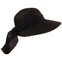 Accessoires textile Femme Chapeaux Chapeau-Tendance Chapeau casquette SALLA Noir