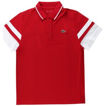 Vêtements Homme Polos manches courtes Lacoste Polo Rouge