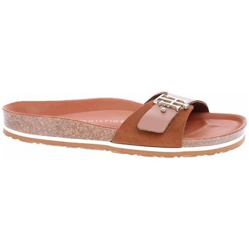 Chaussures Femme Mules Tommy Hilfiger FW0FW05622 GU9 Marron
