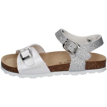 Chaussures Fille Sandales et Nu-pieds Lumberjack SGB4206-001 BLANC