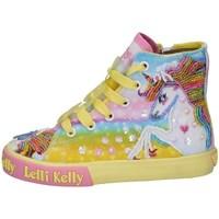 Chaussures Fille Baskets montantes Lelli Kelly LK 9090 Jaune