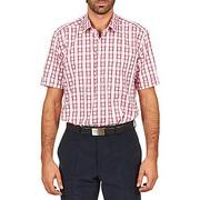 Chemises manches courtes Pierre Cardin CH MC CARREAU GRAPHIQUE