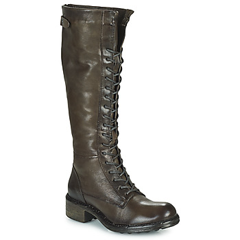 Chaussures Femme Bottes ville Dream in Green NUCRE Gris